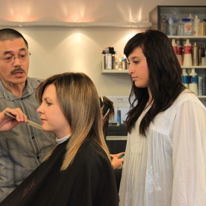 Hairdressing - Ivan Shew, Megan Cooke (student)